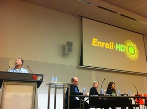 Robi Blumenstein of CHDI, HD World Congress, Melbourne 2011