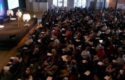 There were over 600 attendees at EHDN 2012 at the Münchenbryggeriet in Stockholm, Sweden.