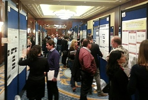 There were over one hundred projects presented in the Wednesday afternoon poster session.