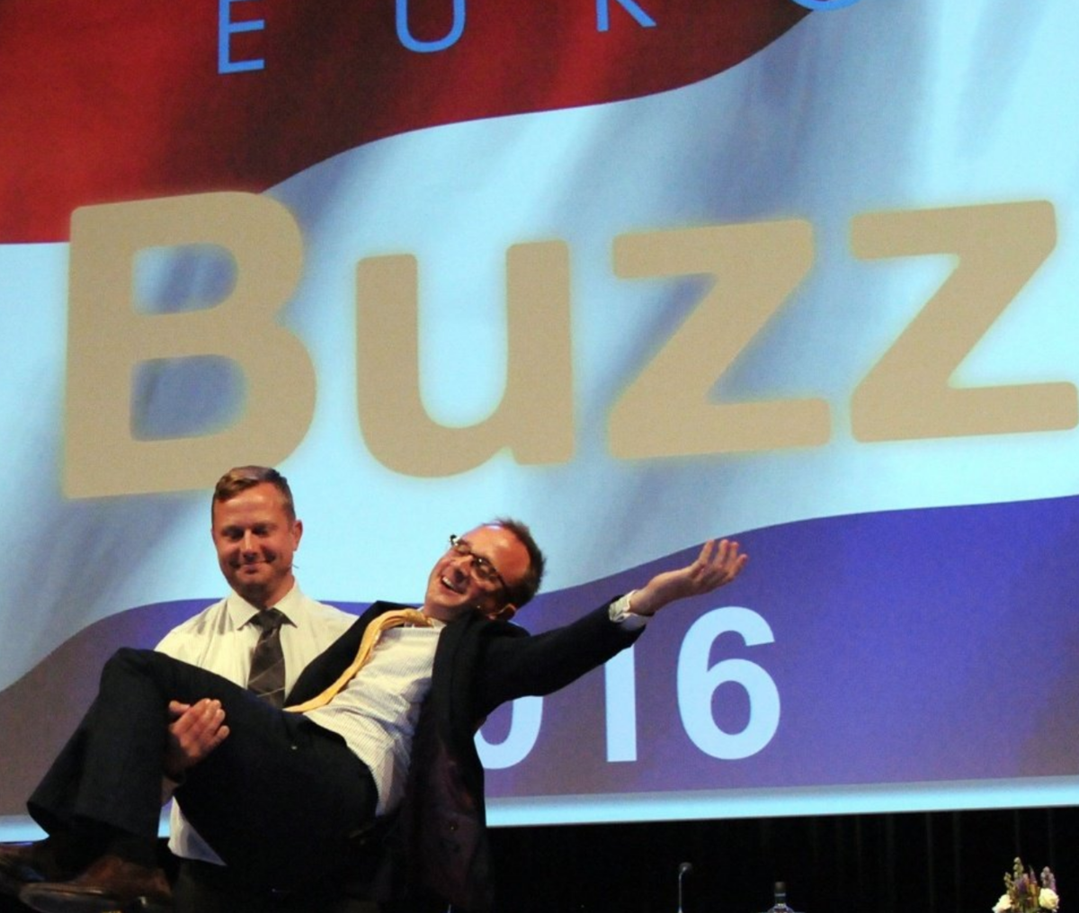 Jeff and Ed offered their on-stage roundup, EuroBuzz 2016